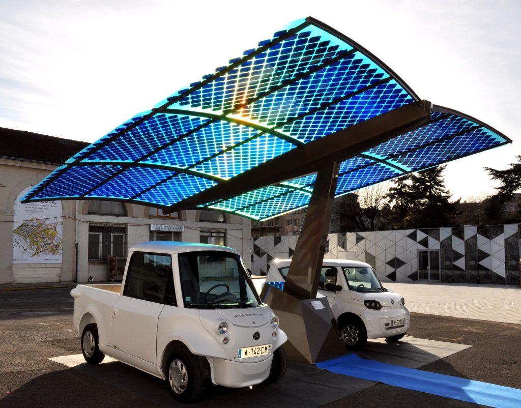Qualquer área livre pode receber um painel solar
